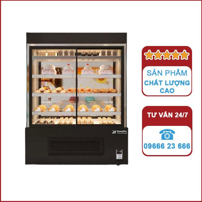 Tủ trưng bày bánh kem 1,5m